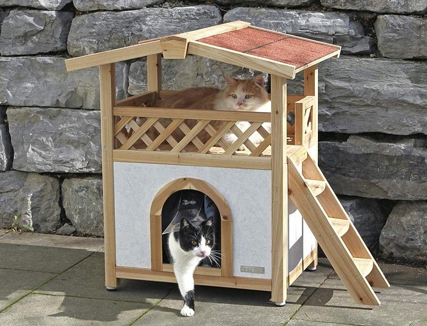 casa de gatos para exterior