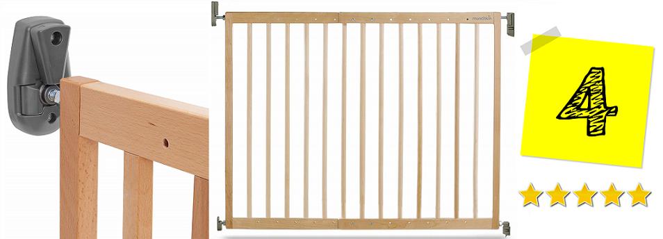 Barrera de seguridad de madera, valla de seguridad, barreras para bebes, rejas para bebes