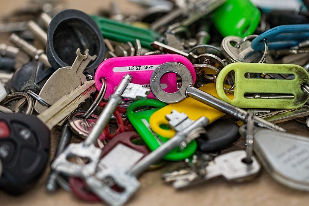 llaves sueltas, llaves sin caja