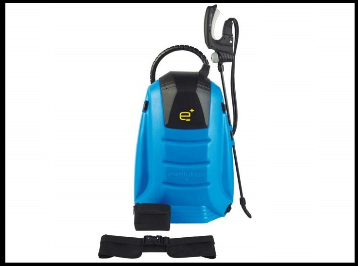 pulverizador de mochila matabi eléctrica, de batería