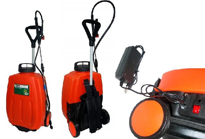 Madeira & Madeira - Pulverizador Mgd Bateria 12V.16L.C/Ruedas 49051, pulverizador eléctrico