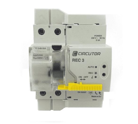 Interruptor diferencial autorrearmable