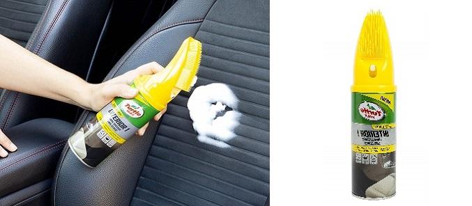 limpiador de espuma en seco, spray de espuma para limpiar el tapizado del coche, limpiador de tapicería en seco, limpia tapizados, productos para limpiar la tapicería del coche